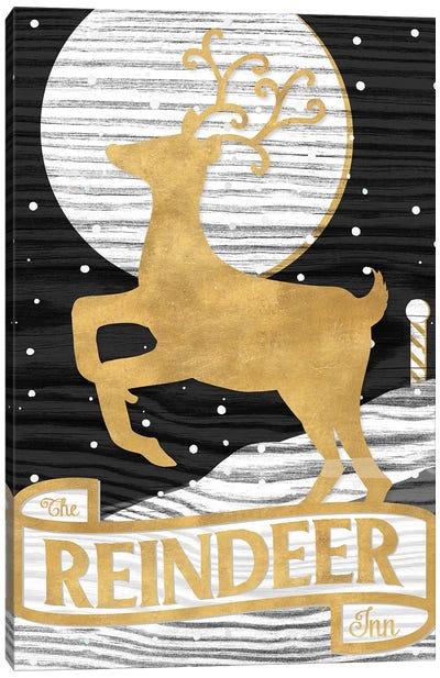 Winter Lodge Sign II Canvas Art Print