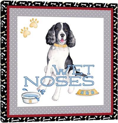 A Dogs Life II Canvas Art Print