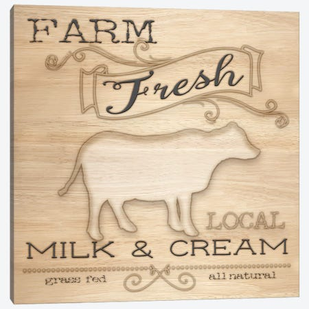 Country Organic Dairy I 3-Piece Canvas #MEZ5} by Andi Metz Art Print