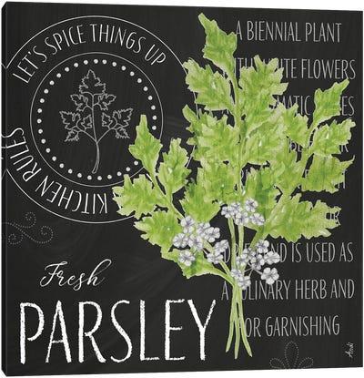 Garden Grown Herbs I Canvas Art Print