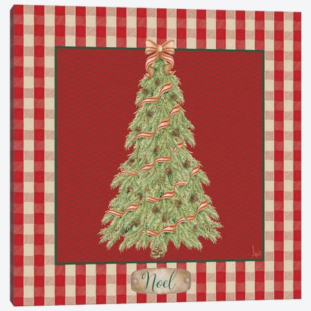 Hometown Christmas I Canvas Print #MEZ73} by Andi Metz Canvas Print