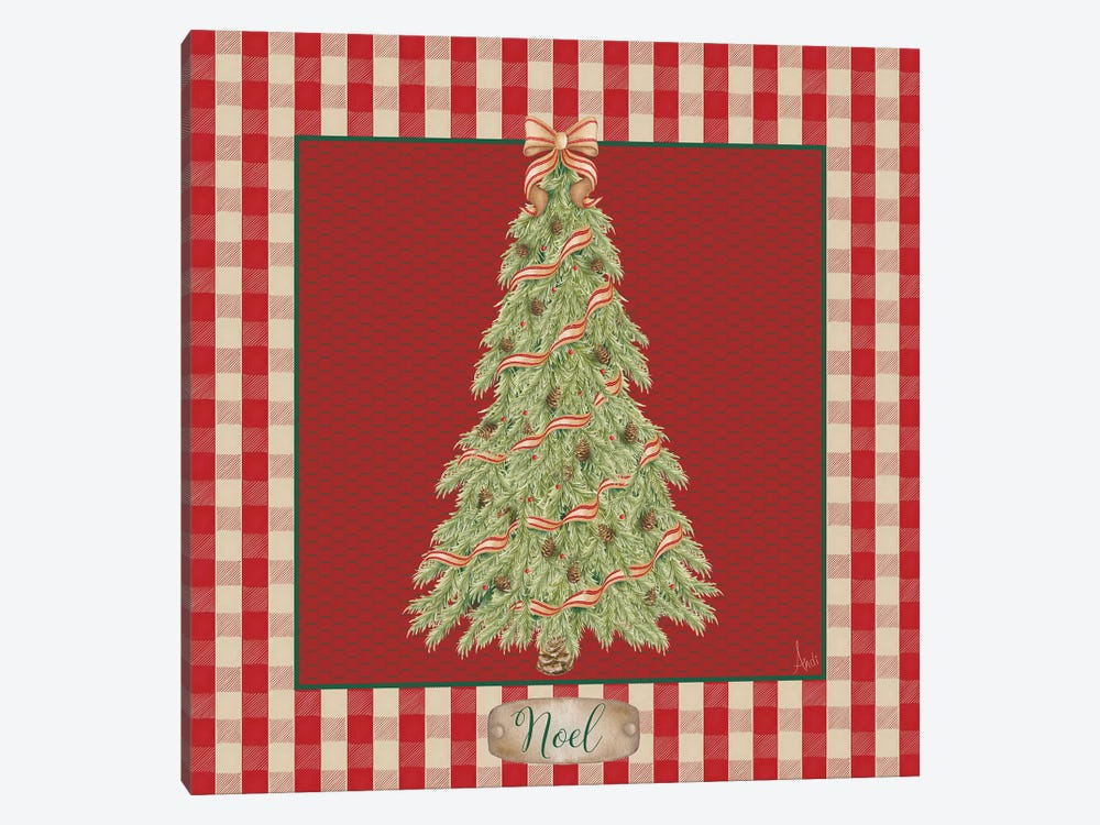 Hometown Christmas I by Andi Metz 1-piece Canvas Wall Art