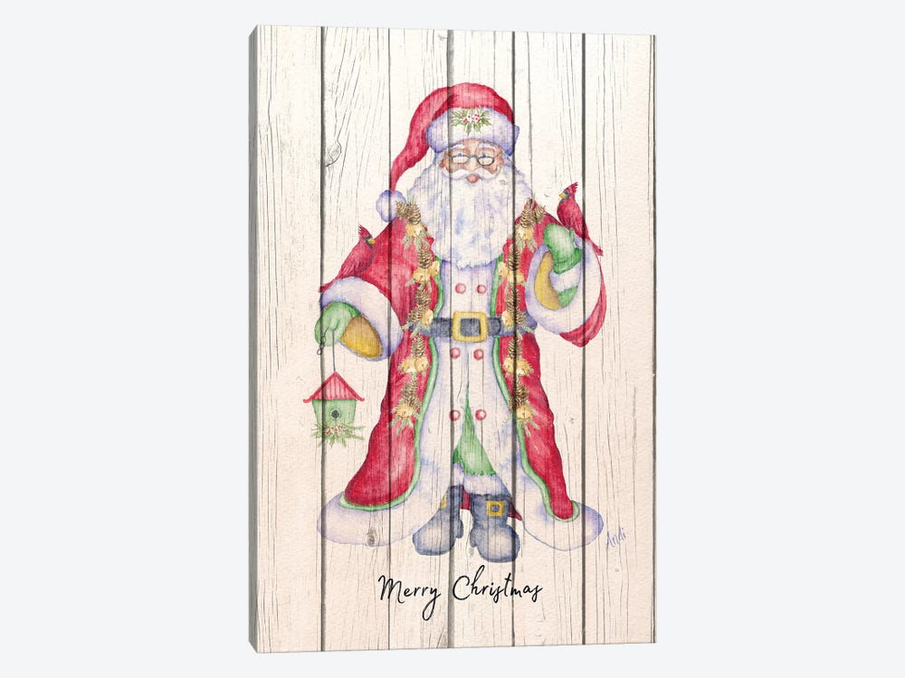 Santa & Cardinal I by Andi Metz 1-piece Canvas Art Print
