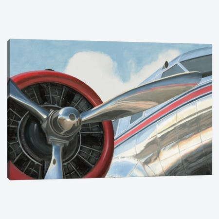 Travel by Air I v2 No Words Canvas Print #MFA14} by Marco Fabiano Canvas Print