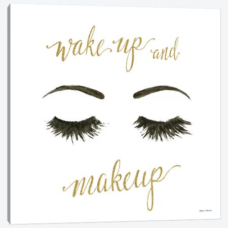 Wake Up and Make Up I Canvas Print #MFA5} by Marco Fabiano Canvas Wall Art