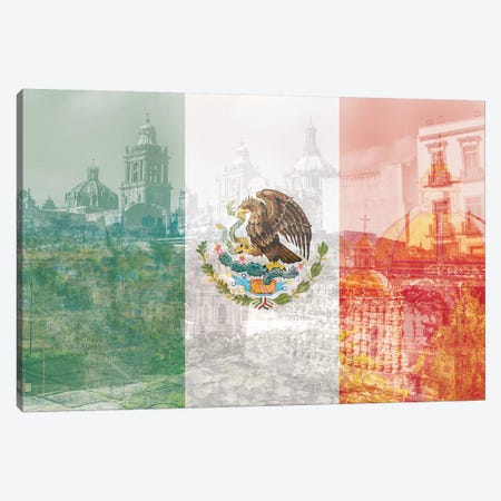 The City of Palaces - Mexico City - Springboard of the Aztec Empire Canvas Print #MFC11} by 5by5collective Canvas Wall Art