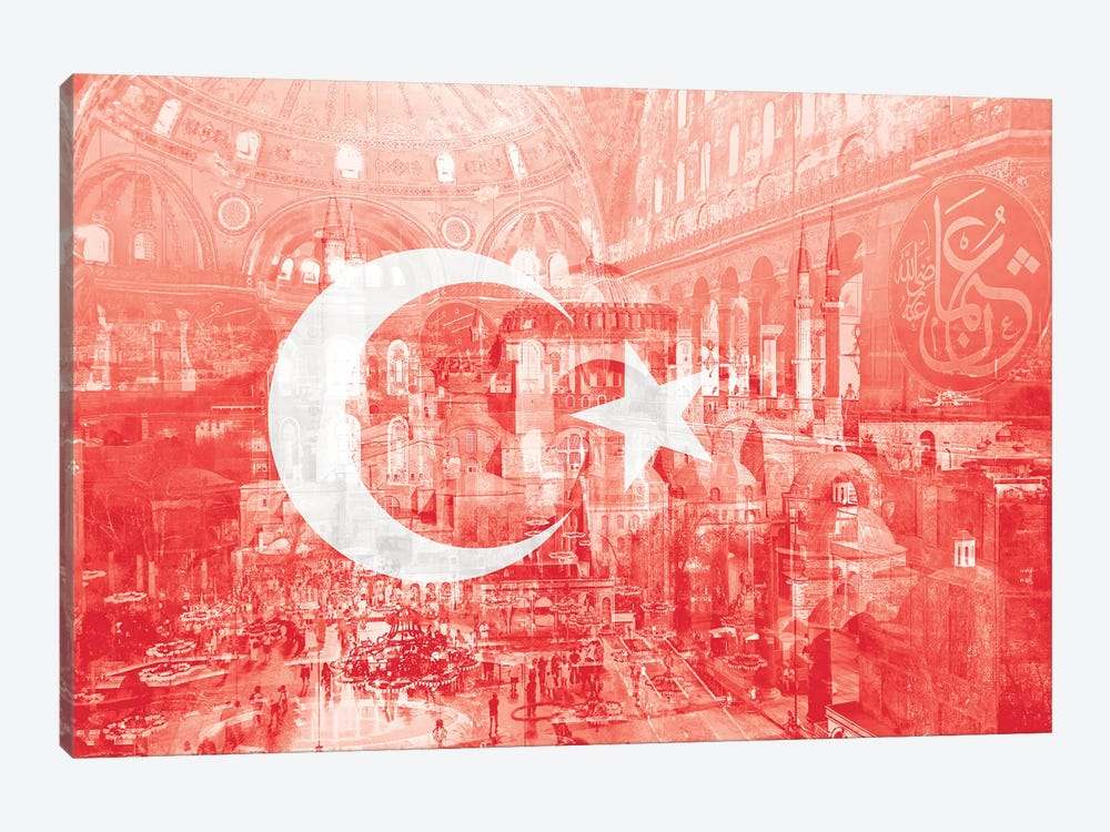The City on Seven Hills - Istanbul - Straddler of Europe and Asia by 5by5collective 1-piece Canvas Art