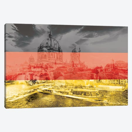 The Grey City - Berlin Canvas Print #MFC14} by 5by5collective Canvas Print