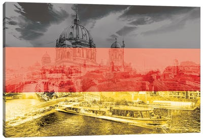 The Grey City - Berlin Canvas Art Print