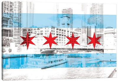 The Windy City - Chicago - The City of Big Shoiulders Canvas Print #MFC16