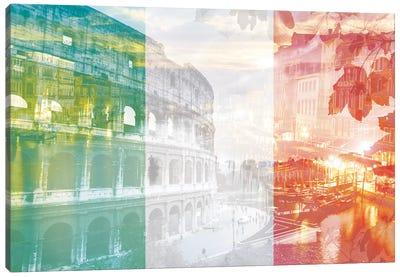 The Eternal City - Rome - Cradle of Ancient Architecture Canvas Art Print