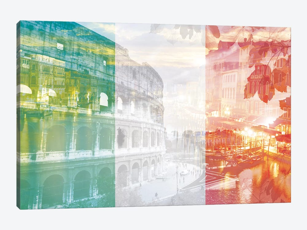 The Eternal City - Rome - Cradle of Ancient Architecture by 5by5collective 1-piece Canvas Art Print