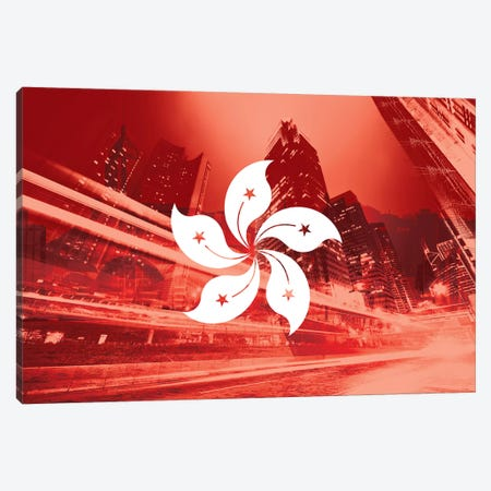 Pearl of the Orient - Hong Kong - Dynamic Inheritance Canvas Print #MFC5} by 5by5collective Canvas Artwork