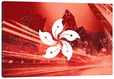 Pearl of the Orient - Hong Kong - Dynamic Inheritance Canvas Art Print