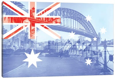 The Harbour City - Sydney - New South Wales Canvas Art Print