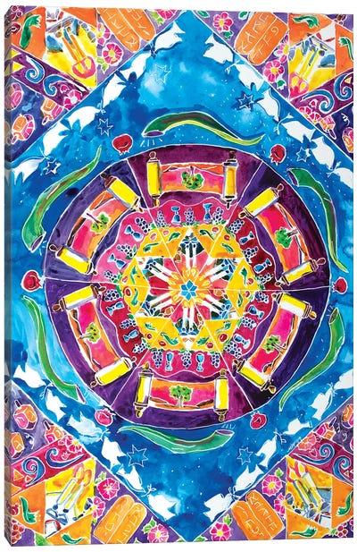 Holiday Kaleidescope Canvas Art Print