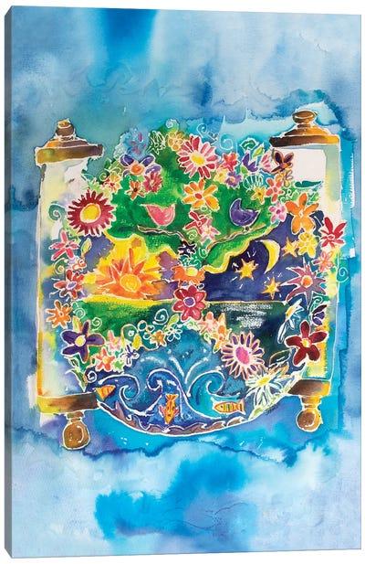 Peace Torah Canvas Art Print