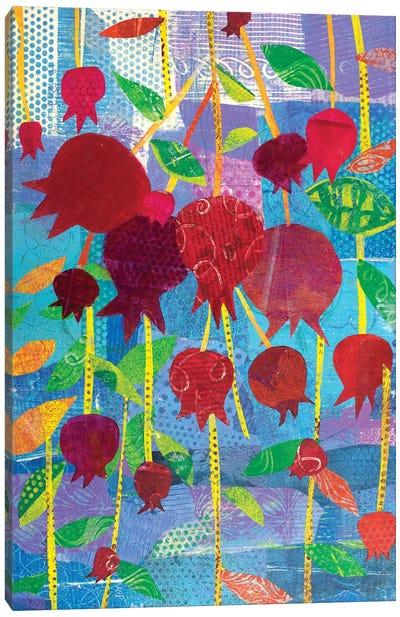Pomegranate Party Canvas Art Print