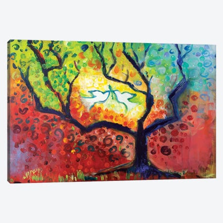 Seasons Of Peace Canvas Print #MFE20} by Michele Pulver Feldman Canvas Print