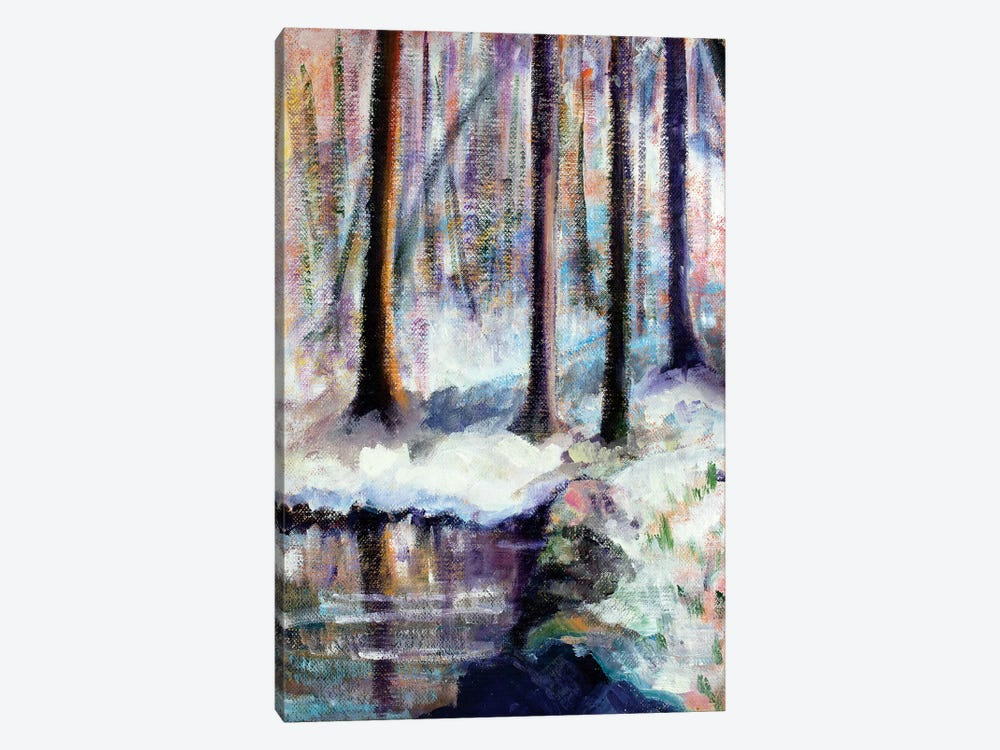 Serenity by Michele Pulver Feldman 1-piece Canvas Wall Art