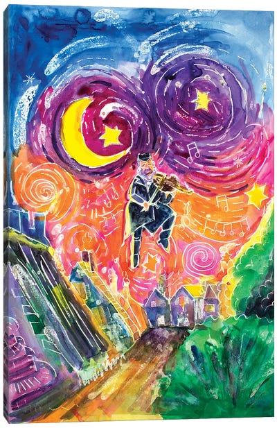 The Fiddler Canvas Art Print
