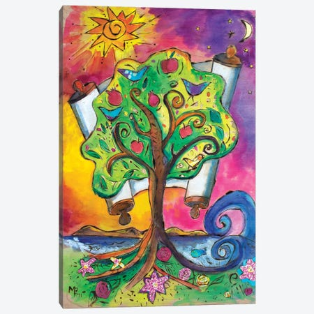 Tree Of Life III Canvas Print #MFE26} by Michele Pulver Feldman Canvas Artwork
