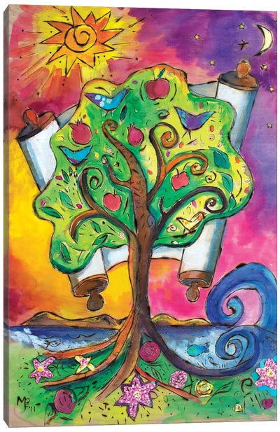 Tree Of Life III Canvas Art Print