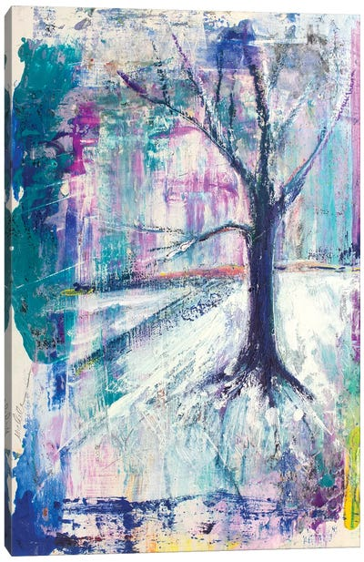 Tree As Seen In Vermont Canvas Art Print