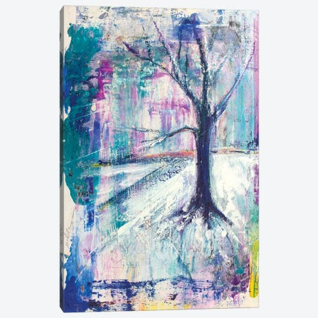 Tree As Seen In Vermont Canvas Print #MFE27} by Michele Pulver Feldman Canvas Art