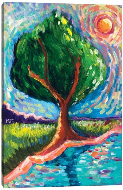 Van Gogh Tree Of Life Canvas Art Print