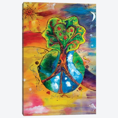 Whole New World Canvas Print #MFE29} by Michele Pulver Feldman Canvas Art Print