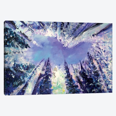 Always Look Up Canvas Print #MFE2} by Michele Pulver Feldman Art Print