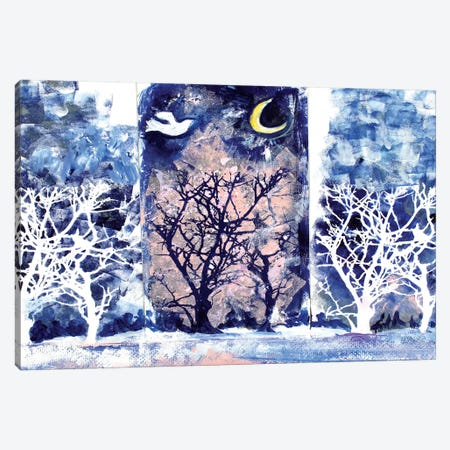 Winter Magic Canvas Print #MFE30} by Michele Pulver Feldman Canvas Wall Art