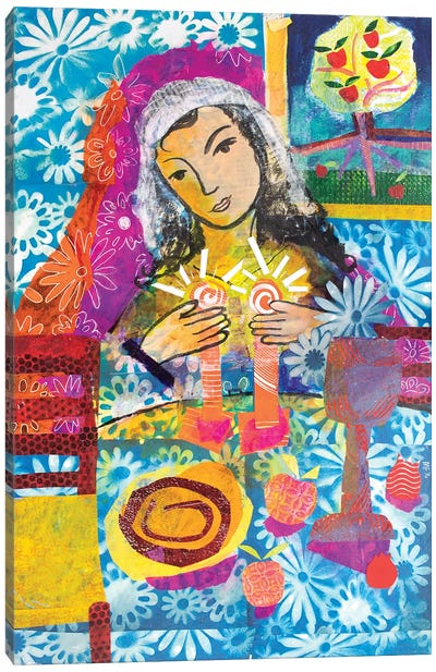 Woman Of Valor Canvas Art Print