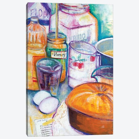 Honey Cake Canvas Print #MFE38} by Michele Pulver Feldman Canvas Art