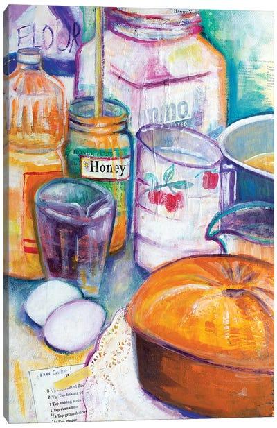 Honey Cake Canvas Art Print