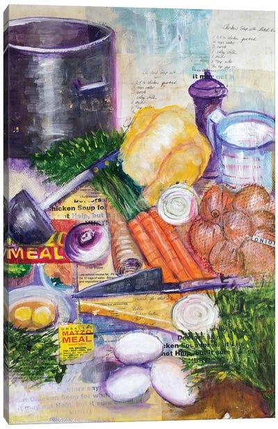Chicken Soup Canvas Art Print