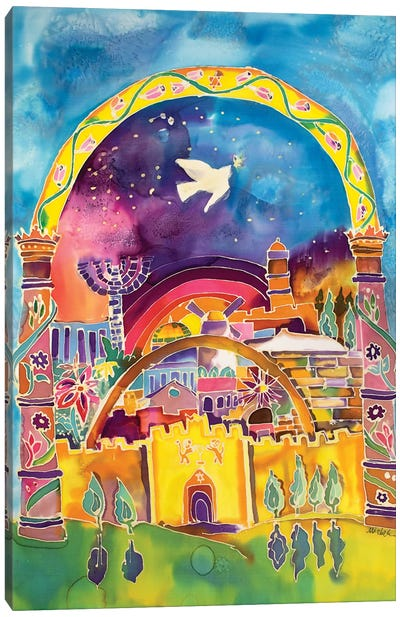 City Of Peace Canvas Art Print