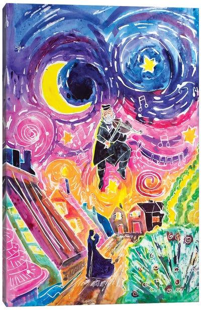 Fiddler Magic Canvas Art Print
