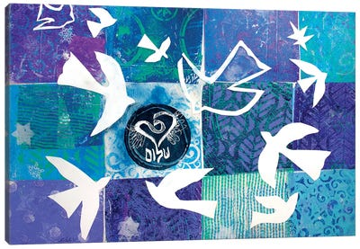 Flight Of Matisse's Doves Canvas Art Print