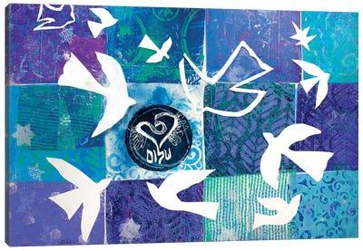 Flight Of Matisse's Doves Canvas Art Print