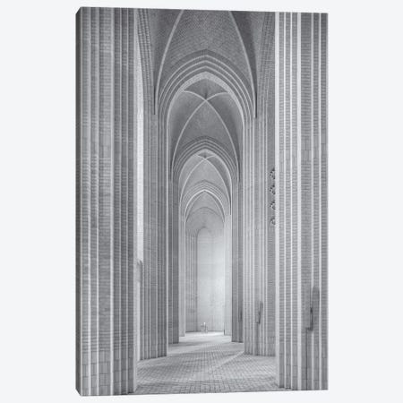 Grundtvigs Kirke Canvas Print #MFL1} by Martin Fleckenstein Canvas Artwork