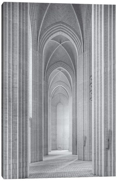 Grundtvigs Kirke Canvas Art Print