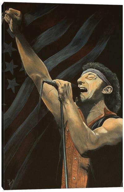 Born In The USA Canvas Art Print