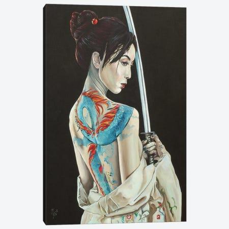 Scorned Canvas Print #MFX103} by Mark Fox Canvas Artwork