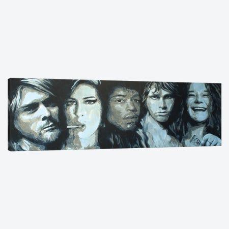 Club 27 Canvas Print #MFX107} by Mark Fox Art Print
