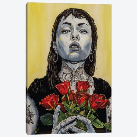 So Sorry Canvas Print #MFX12} by Mark Fox Canvas Art Print