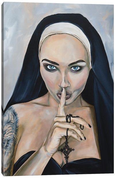 Wicked Nun 2 Canvas Art Print