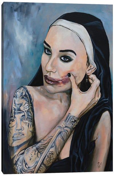 Wicked Nun 4 Canvas Art Print