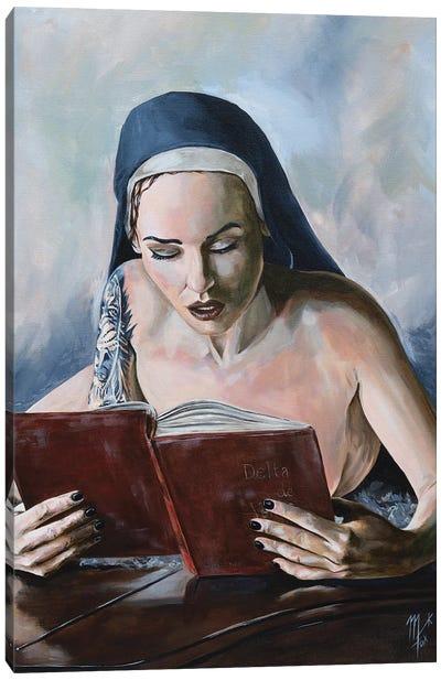 Wicked Nun 5 Canvas Art Print
